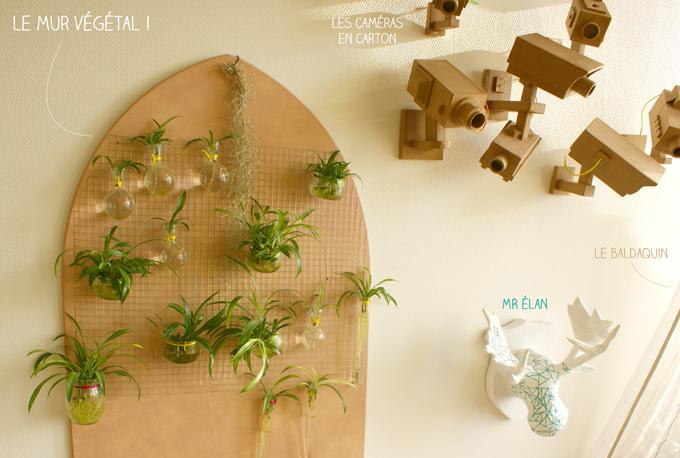 Diy mur vegetal la t te dans les id es - Mur vegetal interieur diy ...