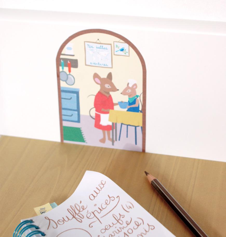 illustrations la vie des souris. Black Bedroom Furniture Sets. Home Design Ideas