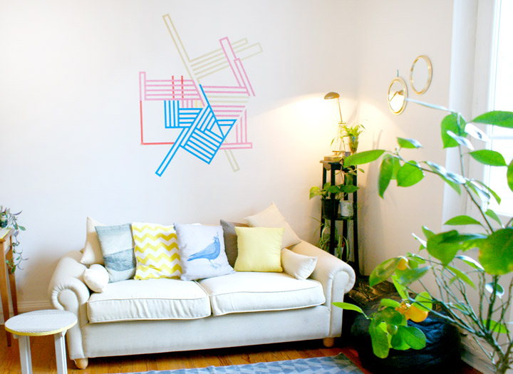 diy mur decoration murale