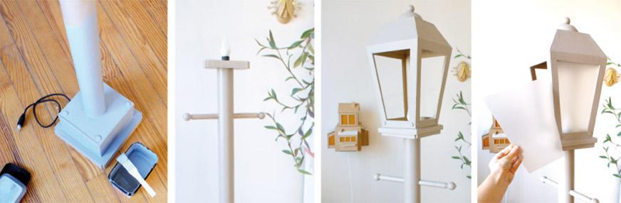 luminaire en carton. Black Bedroom Furniture Sets. Home Design Ideas