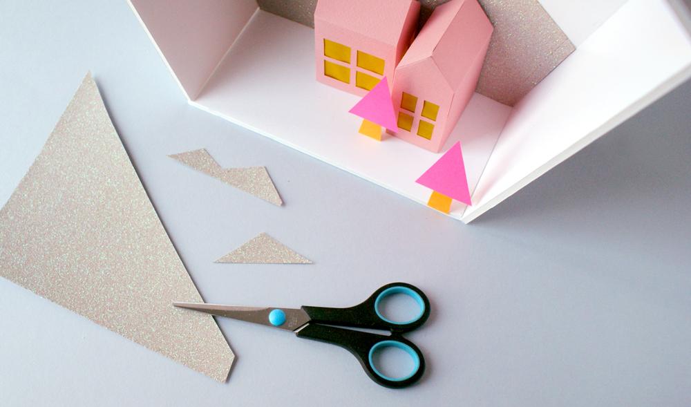 Diy no l une d coration en papier acidul for Decoration 2016 maison