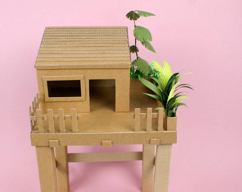 Cabane En Carton Diy idée diy : une cabane en carton