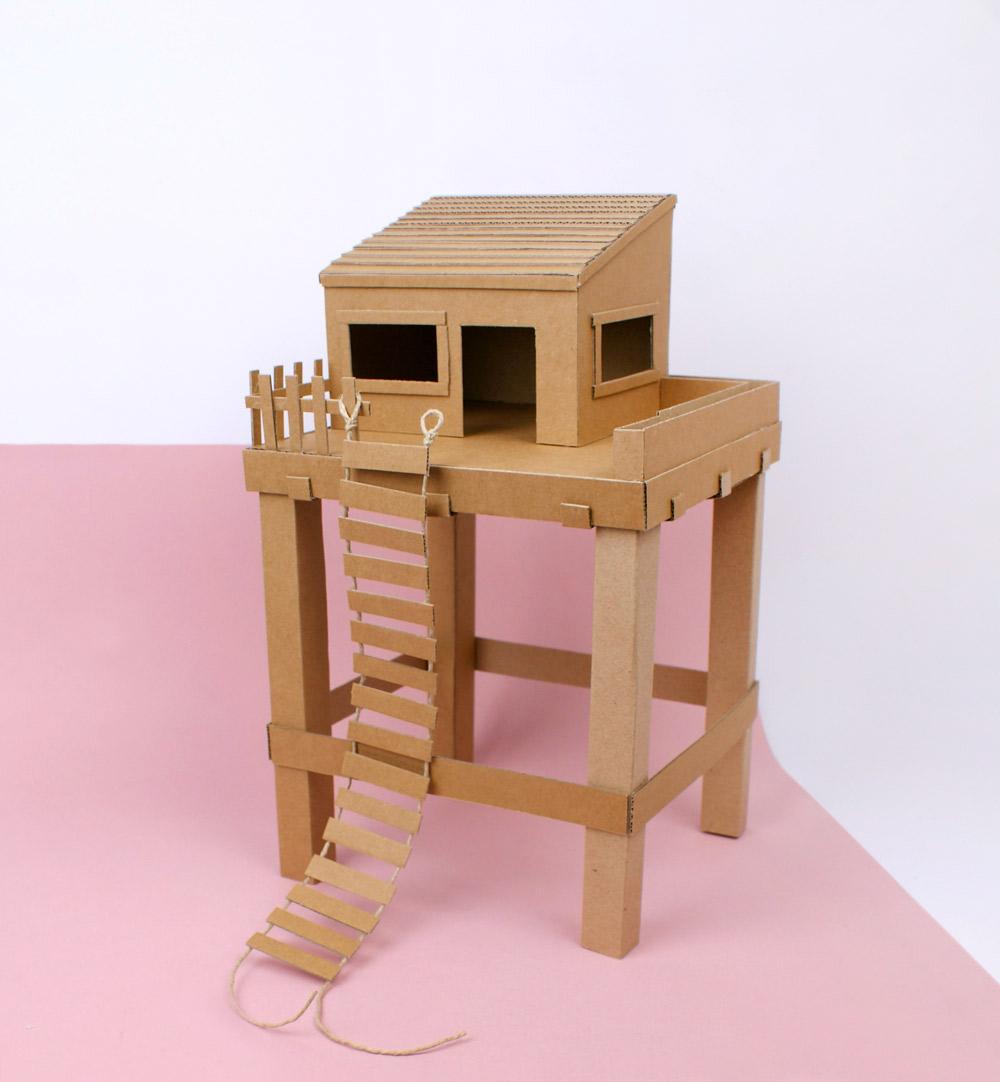 Cabane En Carton Diy diy-carton-idee - la tête dans les idées